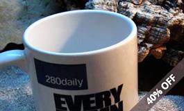 40% off mug