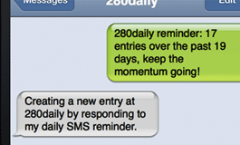 SMS new entries